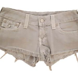 True Religion Joey High Things Shorts Seal